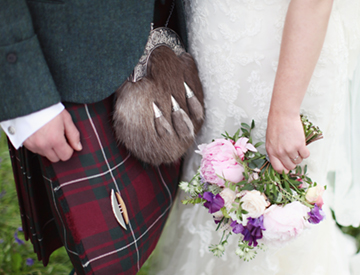 Wedding Kiltpin
